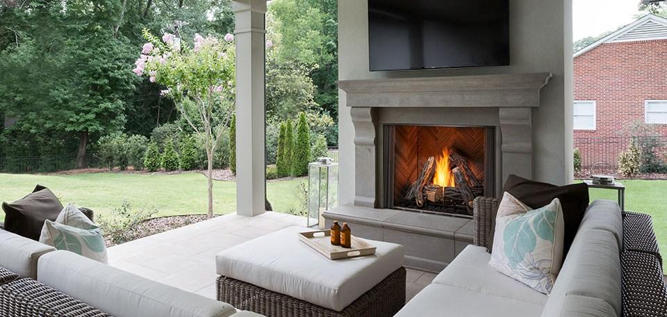 Outdoor Lifestyles Courtyard Gas Fireplace Kegerreis Stoves