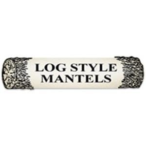 Log Style Mantels
